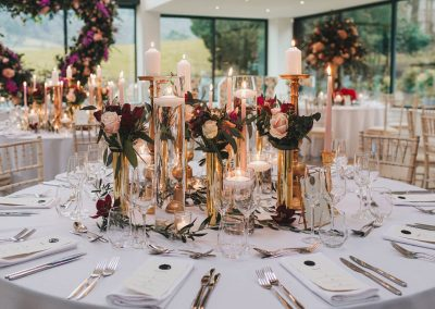 Kelly Louise centrepieces and table decoration